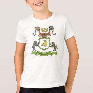 Heraldisches Affe-Geschäft - KinderT - Shirt
