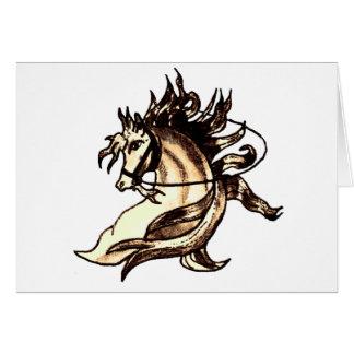 Heraldisches Pferd Karte