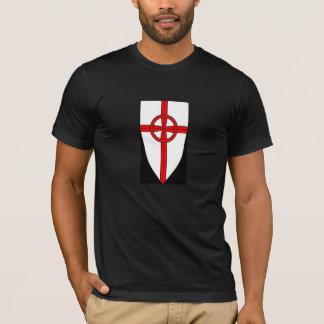 Heraldisches T-Shirt Schild des keltischen Kreuzes