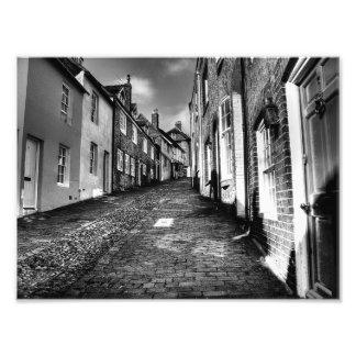 Herauf Keere Straße Fotodruck