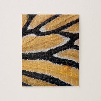 Herauf nahes Monarch-Flügel-Puzzlespiel Puzzle