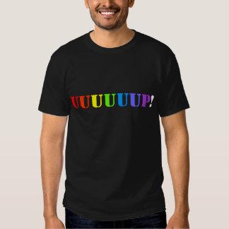 Herauf! Regenbogen-T-Shirt Tshirt