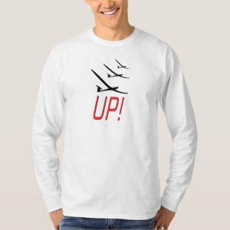 HERAUF!  Segelflugzeug Sailplane T-Shirts