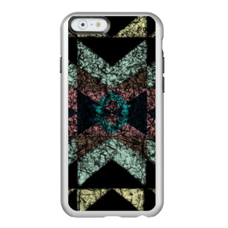 Heraus-abgenutztes Stammes- Muster Incipio Feather® Shine iPhone 6 Hülle