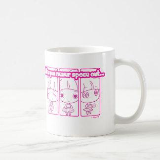 Heraus gesperrt kaffeetasse