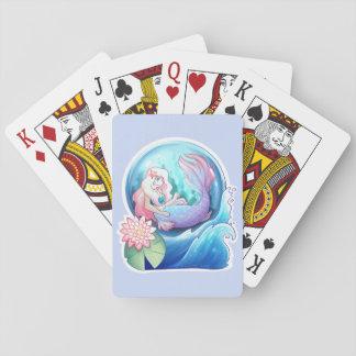 Heraus in Meer Spielkarten
