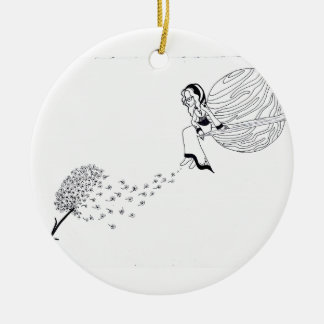 Heraus schauen keramik ornament