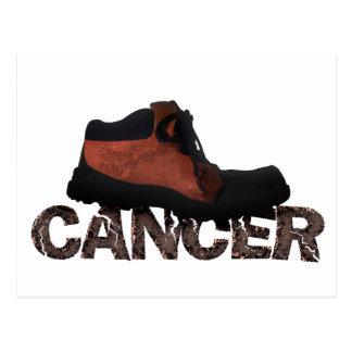 Heraus stampfen Krebs - multi Produkte Postkarte