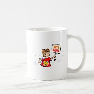 Heraus u. stolz kaffeetasse