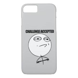 Herausforderung angenommen iPhone 8/7 hülle