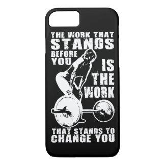 HERAUSFORDERUNG - der Workout der Frauen iPhone 8/7 Hülle
