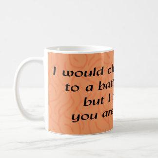 Herausforderung des Esprits Kaffeetasse