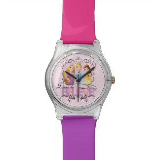 Herausforderung Disney-Prinzessin-  zum zu glauben Armbanduhr