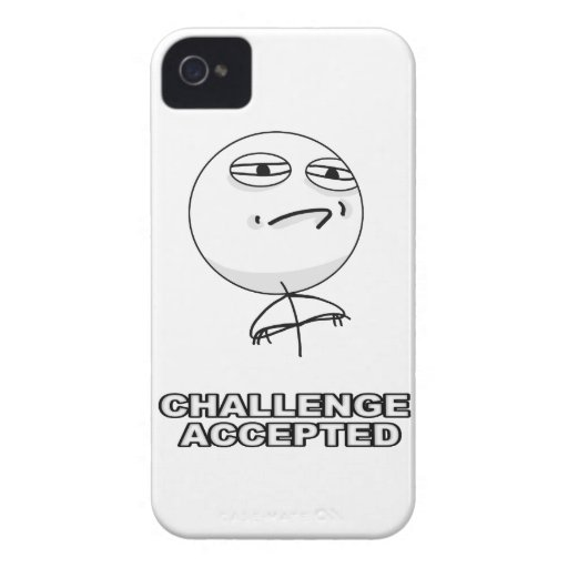 Herausforderung geltender iPhone 4 Meme Fall Case-Mate iPhone 4 Hüllen