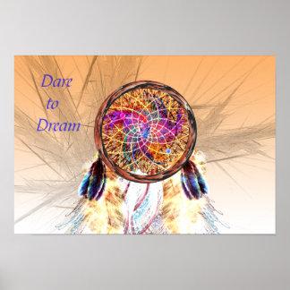 Herausforderung zum Traum -- Traumfänger Poster