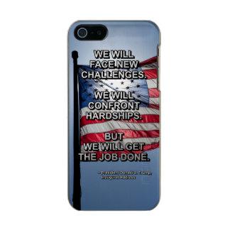 HERAUSFORDERUNGEN DES GESICHTS-PRES45 INCIPIO FEATHER® SHINE iPhone 5 HÜLLE