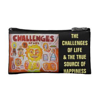 Herausforderungen des Lebens - Stimmungen Makeup-Tasche