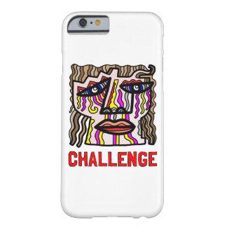 """Herausforderungs-"" glatter Telefon-Kasten Barely There iPhone 6 Hülle"