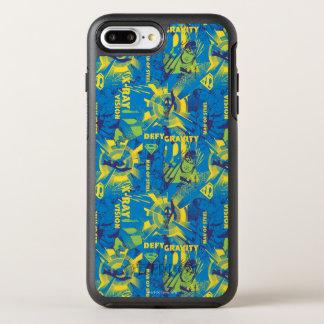 Herausforderungs-Schwerkraft - Blau OtterBox Symmetry iPhone 8 Plus/7 Plus Hülle