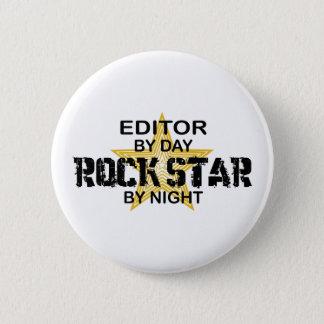 Herausgeber-Rockstar bis zum Nacht Runder Button 5,1 Cm