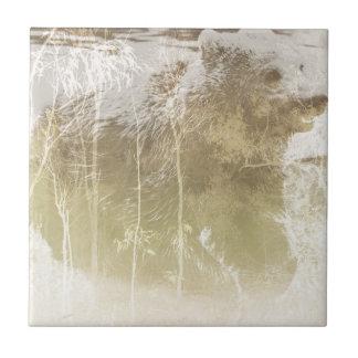 Herausgestellter Bär Keramikfliese