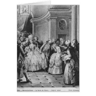 Herauskommen aus die Oper Karte