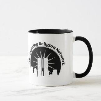 Herausstellen der Religions-Logo-Tasse Tasse