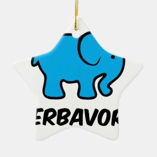 Herbavore Keramik Ornament