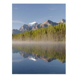 Herbert See an Icefields Allee Alberta Kanada Postkarte