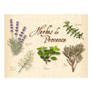 Herbes De Provence, Rezept, Lavendel, Thymian, Postkarte
