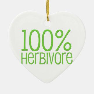 Herbivore 100% keramik ornament
