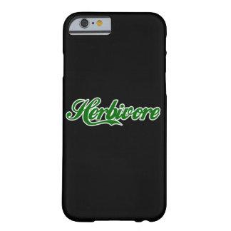 Herbivore-veganer Vegetarier Barely There iPhone 6 Hülle