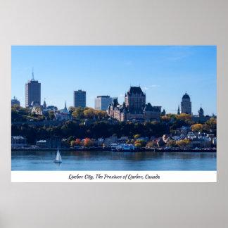 Herbst 2017% pipe% Québec-Stadt Poster