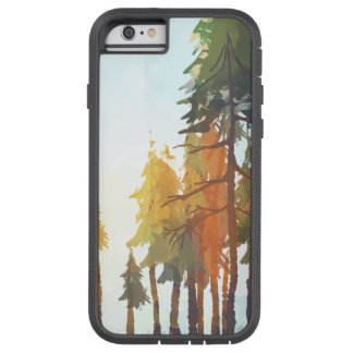 Herbst-Aquarell-Bäume Tough Xtreme iPhone 6 Hülle