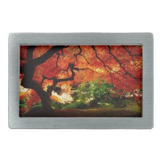Herbst-Baum Rechteckige Gürtelschnallen