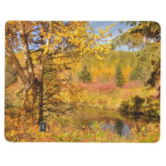 Herbst-Birken-Baum Taschennotizbuch