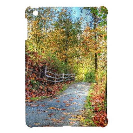 Herbst-Blatt-Baum-Fall-Natur-Waldschicksals-Jahres iPad Mini Hülle