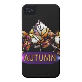 Herbst-Blatt-Bild Case-Mate iPhone 4 Hüllen