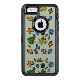 Herbst-Blätter auf Otterbox Fall für das iPhone 6 OtterBox iPhone 6/6s Hülle