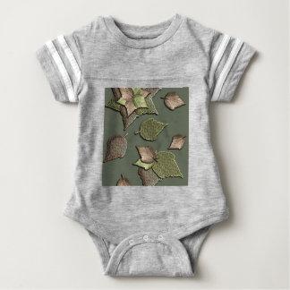 Herbst-Blätter Baby Strampler
