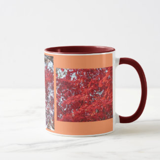 Herbst-Blätter - besonders angefertigt Tasse