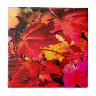 Herbst-Blätter Fliese