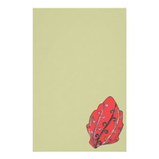 Herbst-Blätter gravierte Motiv Individuelles Druckpapier