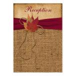Herbst-Blätter, IMITAT Visitenkarte