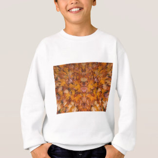 Herbst-Blätter in abstraktem Sweatshirt