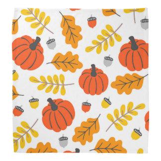 Herbst-Blätter und -kürbise Halstuch