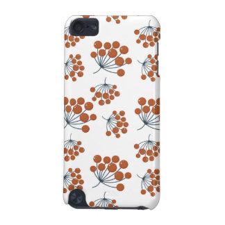 Herbst-Blumen-Muster iPod Touch 5G Hülle