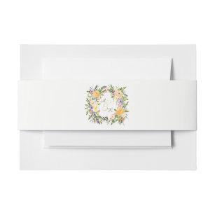 Blumenkranz Einladungsbanderolen Zazzle De