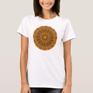 Herbst Brown, Orange und GoldMandala T-Shirt