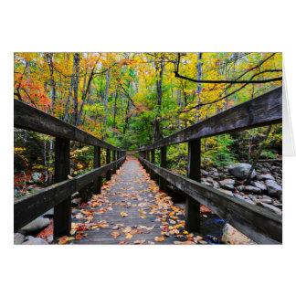 Herbst-Brücke Karte